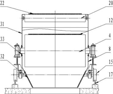 输送带线体全密封结构图