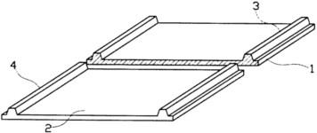 防跑偏输送带结构视图