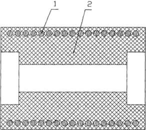 橡胶带配套托辊创新结构图